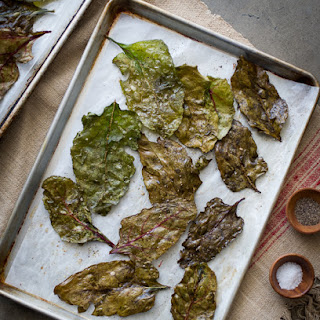 Baked Beet Greens