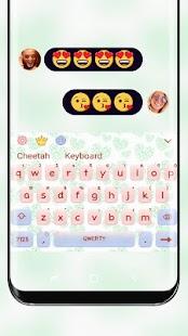 Girl's heart Keyboard - náhled