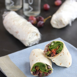 Beans and Greens Sandwich Wrap