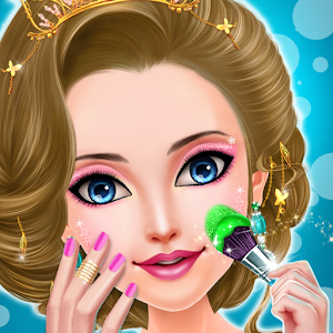 Royal Princess Salon Makeover Icon