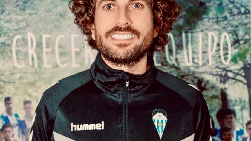 El nuevo entrenador del Berja.