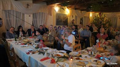 Photo: Jak już wszyscy pojedli Olek zaprezentował nam z najdrobniejszymi szczegółami prezentacje z swoich transatlantyckich wypraw