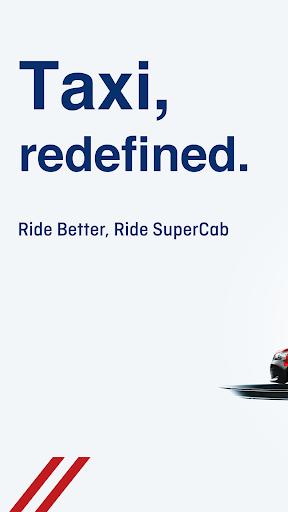 SuperCab - The quality taxi app  screenshots 1
