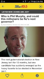 NJ 101.5- screenshot thumbnail