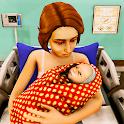 Virtual Pregnant Mom Baby Care - Mother Simulator icon