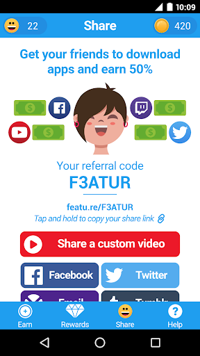 FeaturePoints: Free Gift Cards 8.7 screenshots 4
