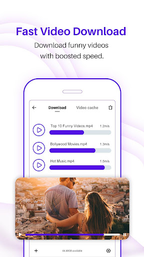 UC Browser Turbo - Fast download, Secure, Ad block 1.5.1.900 screenshots 2