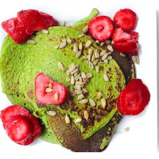 Green Protein Pancakes.