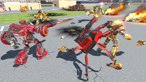 US Police Transform Iron Robot Spider Hero 1.0.3 screenshots 17