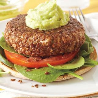 Flax-crusted Tuna Burgers