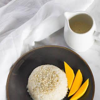 Thai Mango Sticky Rice.