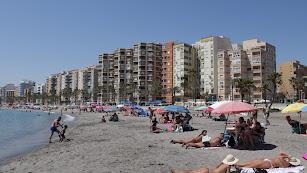 Las playas de la capital en el primer día sin estado de alarma.