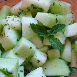 Honeydew Melon and Mint Salad Recipe