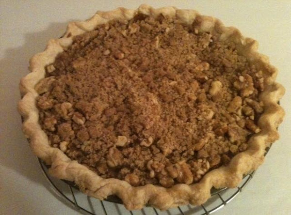 Easy Apple Streusel Pie Recipe
