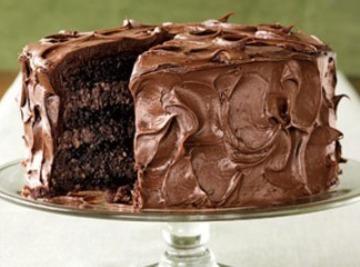 Fudgy Chocolate Cake Recipe