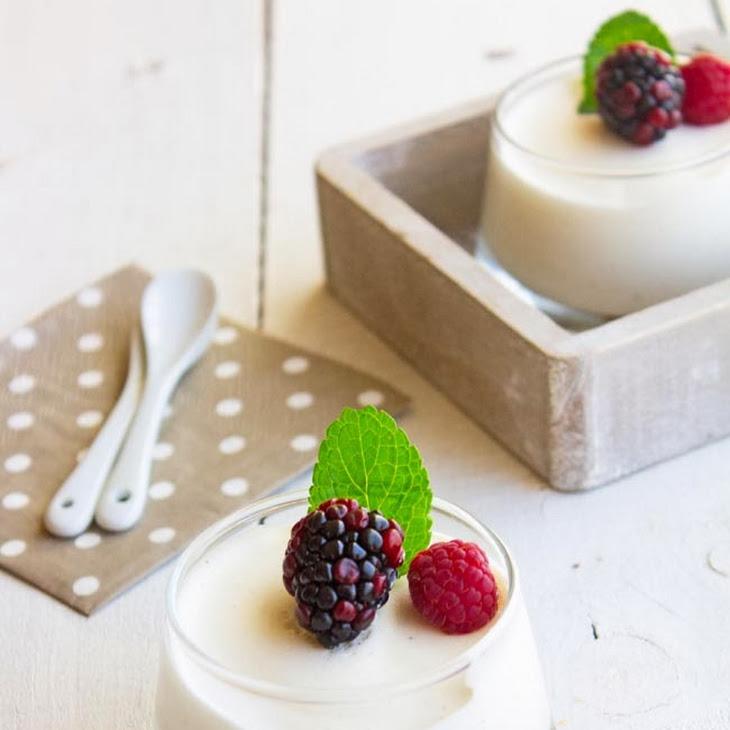 Greek Yogurt Mousse Recipe