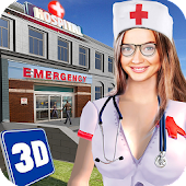 Hospital ER Emergency Heart Surgery: Doctor Games