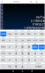 Scientific Calculator Screenshot