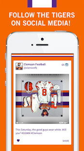 Official App Clemson Tigers- screenshot thumbnail