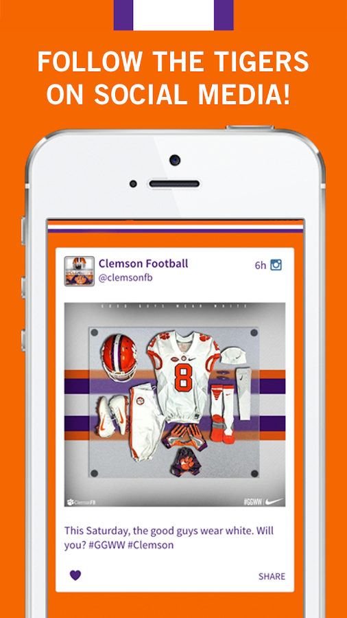 Official App Clemson Tigers- screenshot