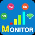 Data Usage Monitor - 3G 4G 5G WiFi Network Monitor icon