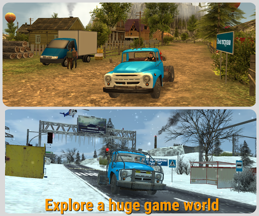 Russian Car Driver  ZIL 130 modavailable screenshots 10
