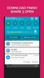 GIF | Video | Tweet Downloader Apk 4