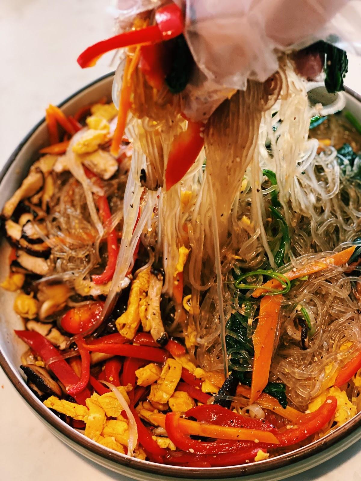 vegetarian glass noodles