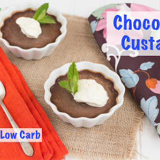 Chocolate Custard (Paleo or Low Carb)