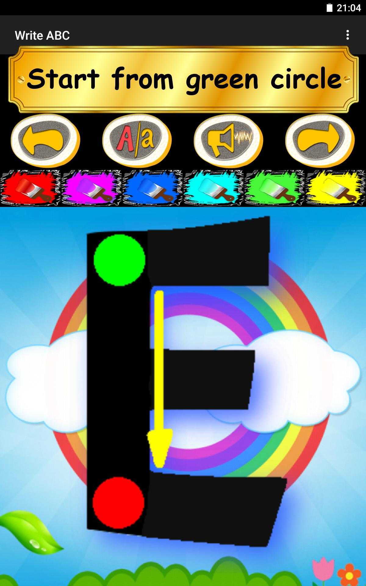 Write ABC - Learn Alphabets screenshot #21