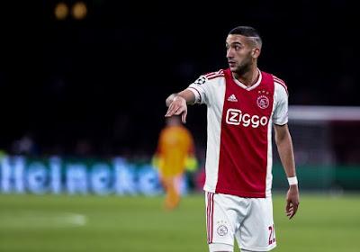 L'Ajax prolonge Ziyech, mais laisse partir un cadre