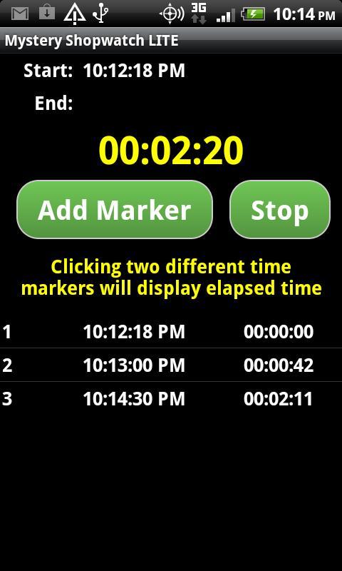 Скриншот Mystery Shopwatch LITE