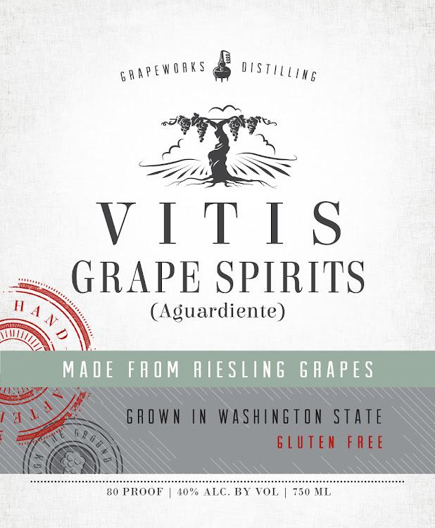 Logo for Vitis Riesling Aguardiente