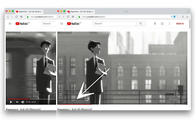 Permanent Progress Bar for YouTube