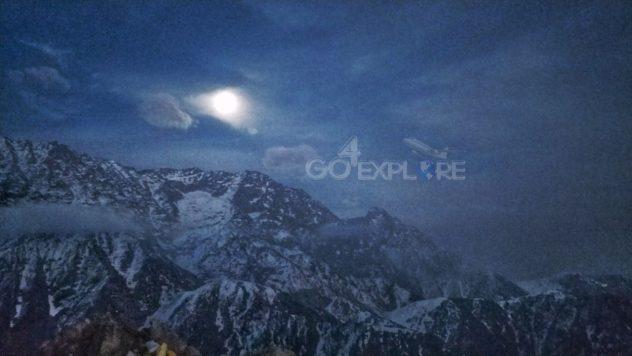 Trek to Snowline- A Trek Above The Triund in -16 degree night