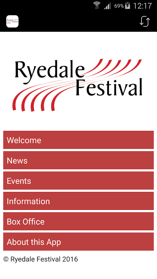 Ryedale Festival- screenshot