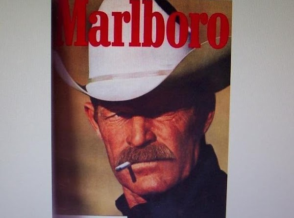 Picture of the MARLBORO MAN.***RECIPE:..Coat the beef in a mixture of flour, paprika,1 teaspoon...