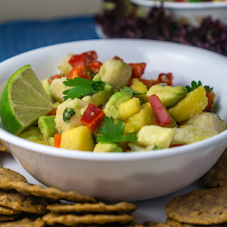 Pickled Willy's Ceviche Salad.