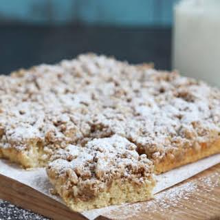 New York Style Crumb Cake.