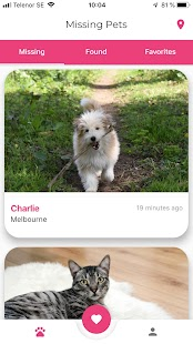 Missing Pets - Reunite lost and found pets Screenshot