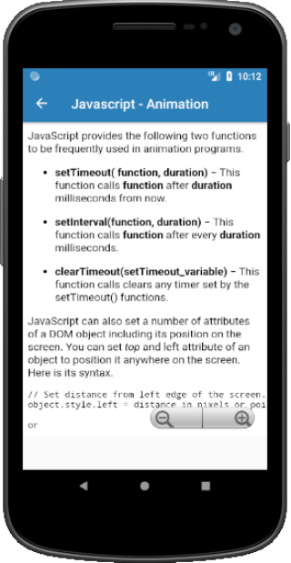 Learn JavaScript Offline – (Android Apps) — AppAgg