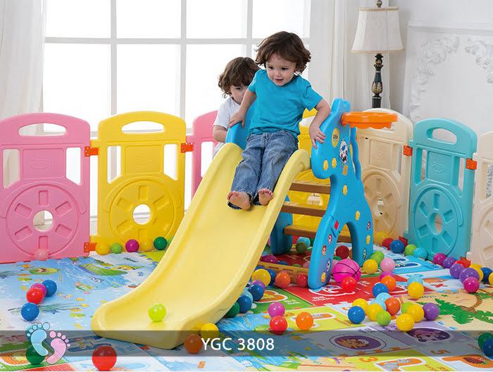 Cầu tuột bóng rổ cho bé YGC-3808 6
