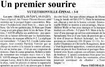 Photo: 15-01-96 N2F Victoire sans souci pour l'ASVB face à Epinal 3-0