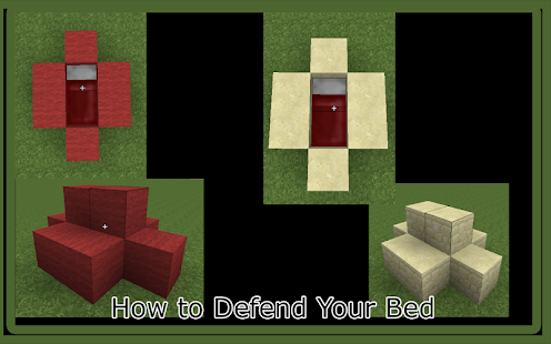 Guide Bed Wars MCPE Map - náhled