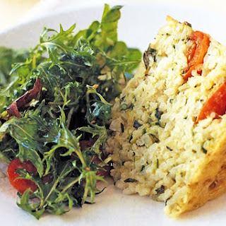 Tomato And Rosemary Risotto Cake