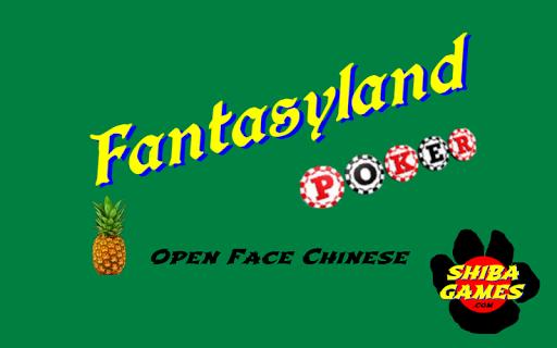 Fantasyland Poker
