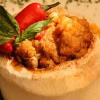 Seafood Otak-Otak in Coconut