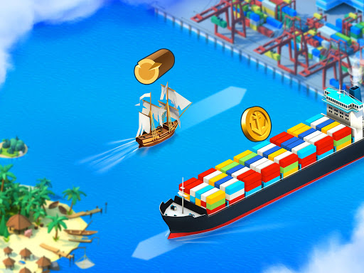 Sea Port: Build Town & Ship Cargo in Strategy Sim 1.0.113 screenshots 20