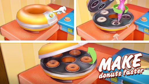 Donut Maker 3d - Sweet Bakery & Cake Shop 1.0 screenshots 2