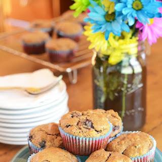 Gluten-Free Blueberry Almond Granola Muffins.